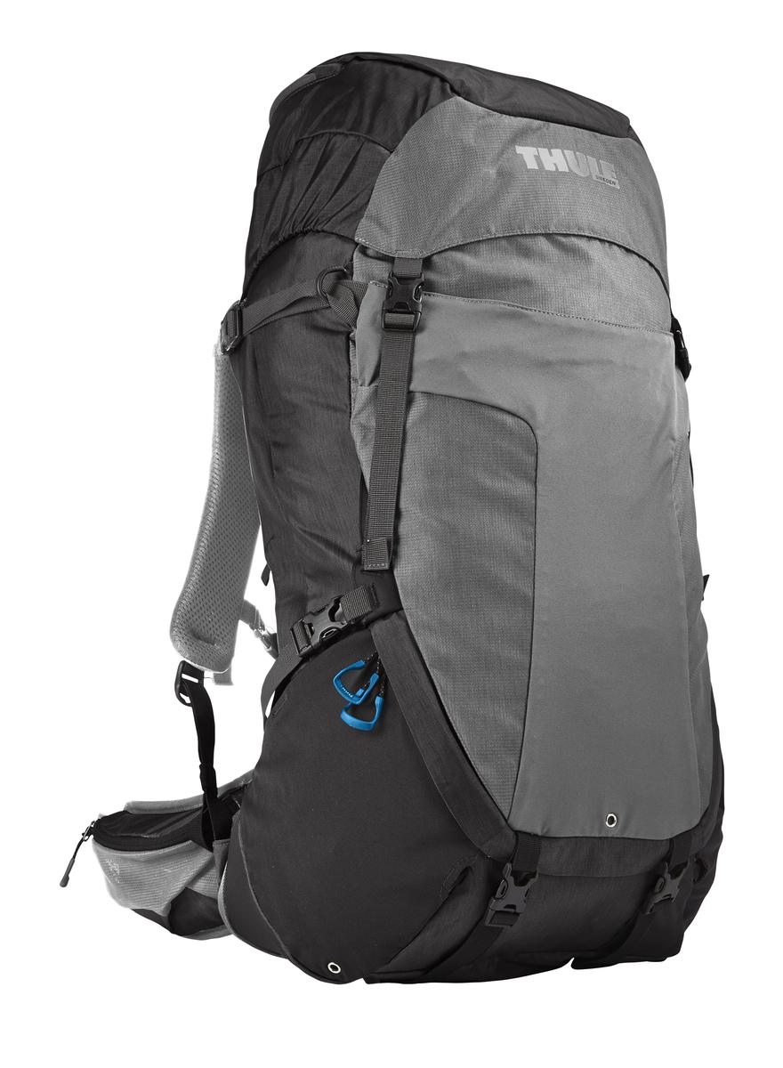 Рюкзак туристический мужской Thule Capstone, цвет: серый, 50 л206702Мужской рюкзак Thule Capstone с объемом 50 л идеален для однодневного пешего похода или непродолжительного похода легкого уровня.Имеет полностью регулируемую подвеску, воздухопроницаемую заднюю панель и вшитый дождевой чехол.Система крепления MicroAdjust позволяет отрегулировать ремень для торса на 10 см при надетом рюкзаке, чтобы добиться идеальной посадки.Сеточная задняя панель натягивается, обеспечивая превосходную воздухопроницаемость и позволяя вам не потеть и оставаться сухим в пути.Яркая съемная накидка от дождя обеспечивает сухость ваших принадлежностей во время ливнейРегулируемый поясной ремень совместим со взаимозаменяемыми аксессуарами VersaClick (продаются отдельно).С помощью держателя палок VersaClick, входящего в комплект поставки, можно удобно закрепить треккинговые палки на поясном ремне, не снимая рюкзак.Небольшие принадлежности можно хранить в карманах на молнии в верхнем клапане и в поясном ремне.Доступ к содержимому сверху, снизу и сбоку упрощает загрузку и разгрузку рюкзака и позволяет легко найти нужную вещь во время пути.Эластичный карман Shove-it Pocket обеспечивает быстрый доступ к часто используемым предметамМожно легко переместить снаряжение в переднюю часть рюкзака с помощью ремешка, продетого сквозь прочную петлю.Задние крепления для треккинговых палок и ледоруба можно убрать, если они не используются.