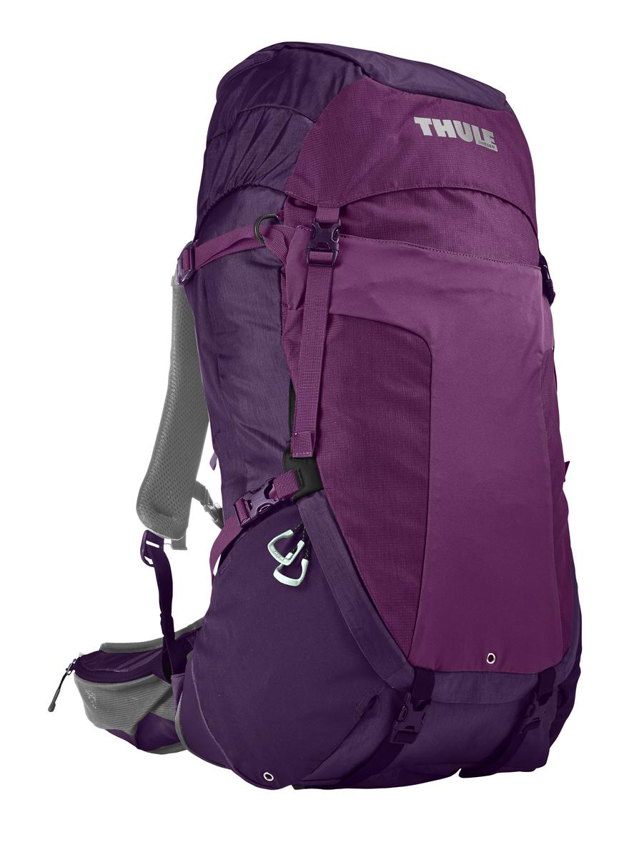 Рюкзак туристический женский Thule Capstone, цвет: фиолетовый, 50 л206703Женский рюкзак Thule Capstone с объемом 50 л идеален для однодневного пешего похода или непродолжительного похода легкого уровня.Имеет полностью регулируемую подвеску, воздухопроницаемую заднюю панель и вшитый дождевой чехол.Система крепления MicroAdjust позволяет отрегулировать ремень для торса на 10 см при надетом рюкзаке, чтобы добиться идеальной посадки.Сеточная задняя панель натягивается, обеспечивая превосходную воздухопроницаемость и позволяя вам не потеть и оставаться сухим в пути.Яркая съемная накидка от дождя обеспечивает сухость ваших принадлежностей во время ливнейРегулируемый поясной ремень совместим со взаимозаменяемыми аксессуарами VersaClick (продаются отдельно).С помощью держателя палок VersaClick, входящего в комплект поставки, можно удобно закрепить треккинговые палки на поясном ремне, не снимая рюкзак.Небольшие принадлежности можно хранить в карманах на молнии в верхнем клапане и в поясном ремне.Доступ к содержимому сверху, снизу и сбоку упрощает загрузку и разгрузку рюкзака и позволяет легко найти нужную вещь во время пути.Эластичный карман Shove-it Pocket обеспечивает быстрый доступ к часто используемым предметамМожно легко переместить снаряжение в переднюю часть рюкзака с помощью ремешка, продетого сквозь прочную петлю.Задние крепления для треккинговых палок и ледоруба можно убрать, если они не используются.