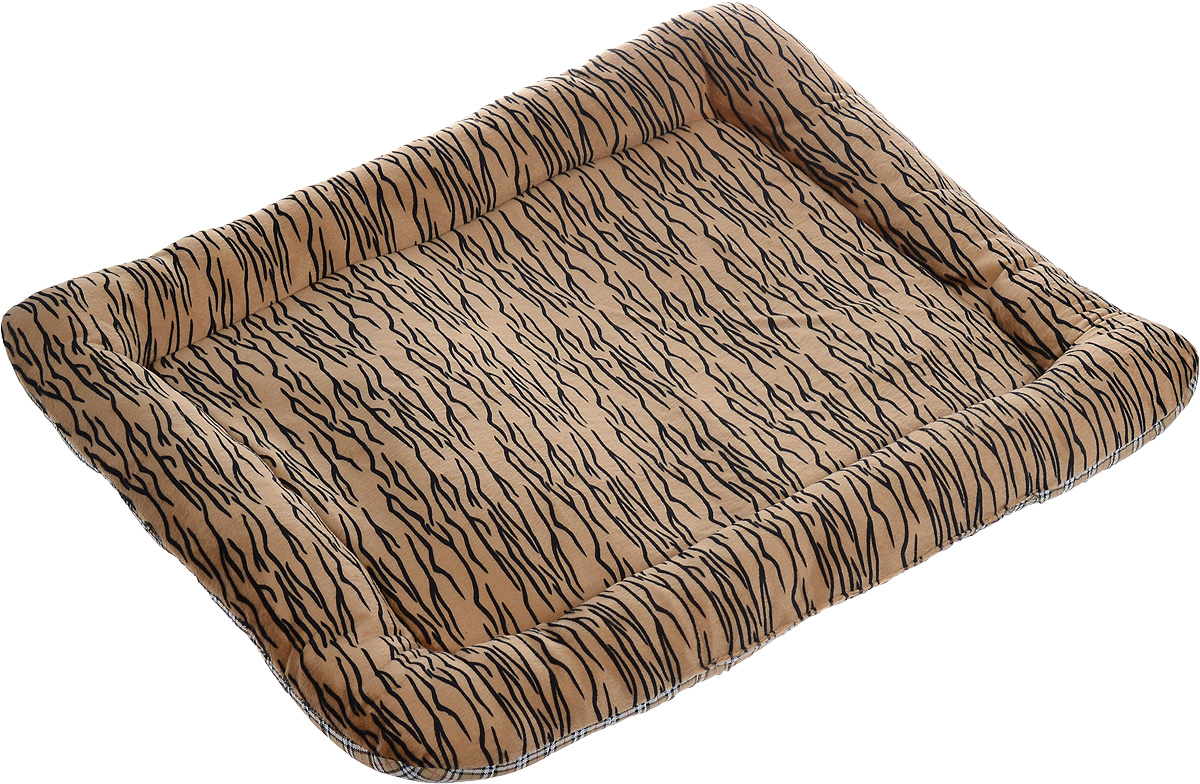 Матрас для животных Каскад Тигр. №5, 80 х 65 см0120710Матрас для животных Каскад Тигр. №5, изготовленный из текстиля, идеально подойдет для автомобилей. Наполнитель выполнен из поролона и полиэстера. Такой матрас поддерживает температурный баланс вашего питомца в любое время года. Яркий дизайн позволяет изделию выглядеть привлекательным даже в период линьки животного.