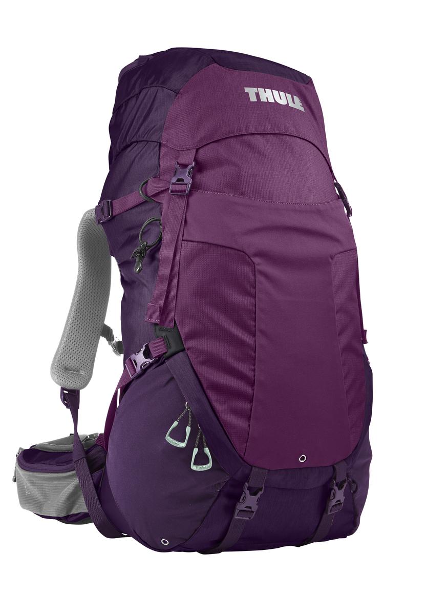 Рюкзак туристический женский Thule Capstone, цвет: фиолетовый, 40 л206903Рюкзак туристический женский Thule Capstone с объемом 40 л идеален для однодневного пешего похода или непродолжительного похода легкого уровня.Имеет полностью регулируемую подвеску, воздухопроницаемую заднюю панель и вшитый дождевой чехол.Система крепления MicroAdjust позволяет отрегулировать ремень для торса на 10 см при надетом рюкзаке, чтобы добиться идеальной посадки.Сеточная задняя панель натягивается, обеспечивая превосходную воздухопроницаемость и позволяя вам не потеть и оставаться сухим в пути.Яркая съемная накидка от дождя обеспечивает сухость ваших принадлежностей во время ливнейРегулируемый поясной ремень совместим со взаимозаменяемыми аксессуарами VersaClick (продаются отдельно).С помощью держателя палок VersaClick, входящего в комплект поставки, можно удобно закрепить треккинговые палки на поясном ремне, не снимая рюкзак.Небольшие принадлежности можно хранить в карманах на молнии в верхнем клапане и в поясном ремне.Доступ к содержимому сверху, снизу и сбоку упрощает загрузку и разгрузку рюкзака и позволяет легко найти нужную вещь во время пути.Эластичный карман Shove-it Pocket обеспечивает быстрый доступ к часто используемым предметамМожно легко переместить снаряжение в переднюю часть рюкзака с помощью ремешка, продетого сквозь прочную петлю.Задние крепления для треккинговых палок и ледоруба можно убрать, если они не используются.