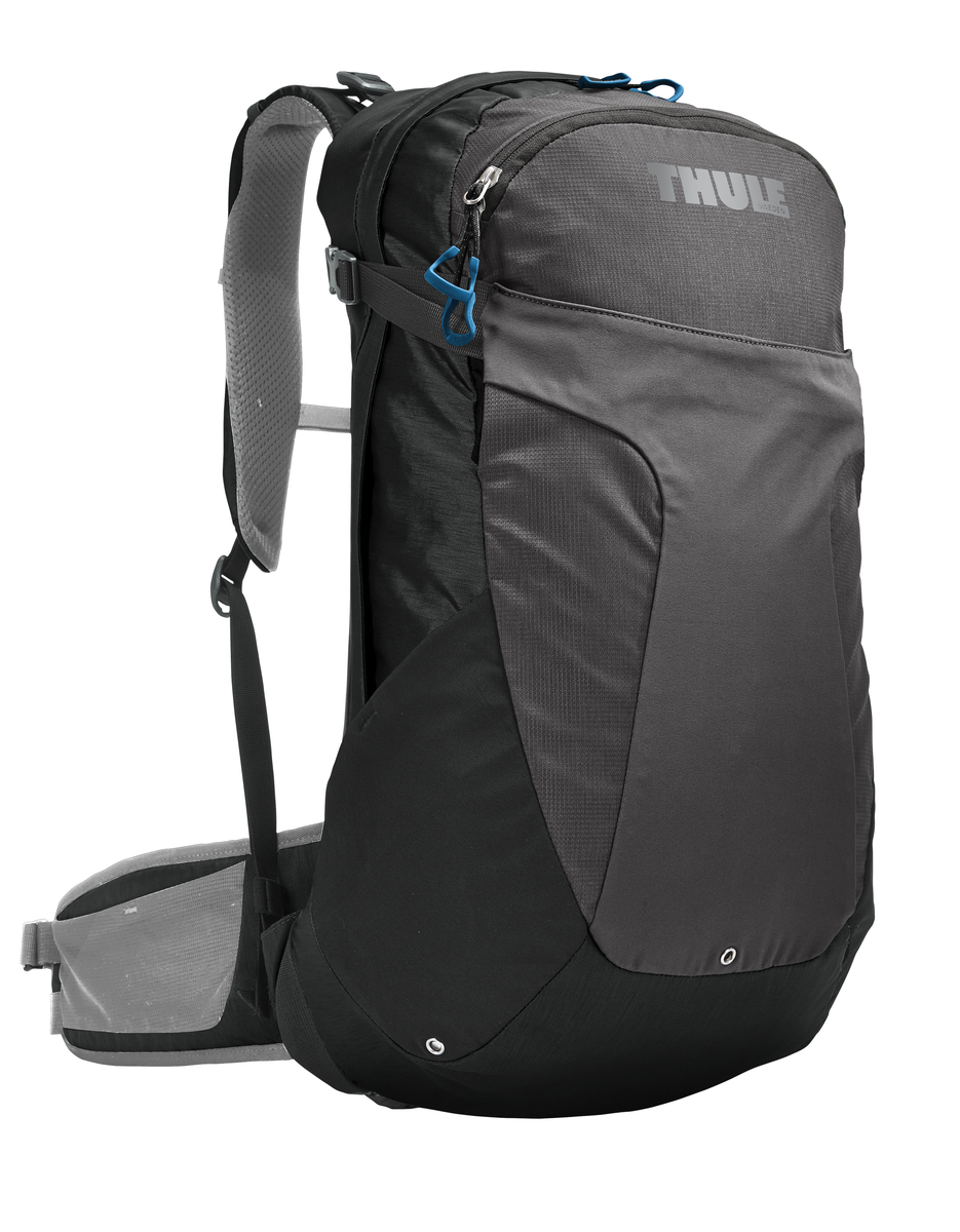 Рюкзак женский Thule Capstone, цвет: темно-серый, 22 л. Размер S/M207400Женский рюкзак Thule Capstone идеально подходит для однодневных путешествий или коротких походов. Рюкзак снабжен яркой накидкой от дождя и системой крепления MicroAdjust, которая обеспечивает максимальную регулировку для идеальной посадки. Сзади расположена натягиваемая сеточная панель для максимальной воздухопроницаемости. Рюкзак оснащен 1 вместительным отделением на застежке-молнии. Спереди имеется 2 кармана, один из которых на застежке-молнии. По бокам расположено 2 эластичных кармана. На набедренном ремне имеется 2 небольших кармана.
