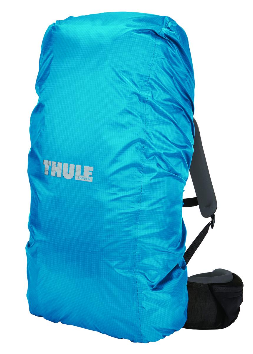Чехол влагозащитный Thule Rain Cover, для рюкзака, цвет: голубой, 55-74 л208200Универсальная накидка для рюкзака Thule обеспечит защиту от дождя. Изготовлен чехол из прочного нейлона (плотность волокна 70 ден) с водонепроницаемым полиуретановым покрытием и проклеенными швами для защиты от воды. Специальный вшитый мешок для компактного хранения. Эластичный ремень удерживает накидку от дождя при сильном ветре Шнурок для затягивания образует плотную петлю вокруг рюкзака для идеальной посадки. Светоотражающий логотип обеспечивает вашу заметность в темное время суток. Подходит для рюкзаков объемом 55–74 л.