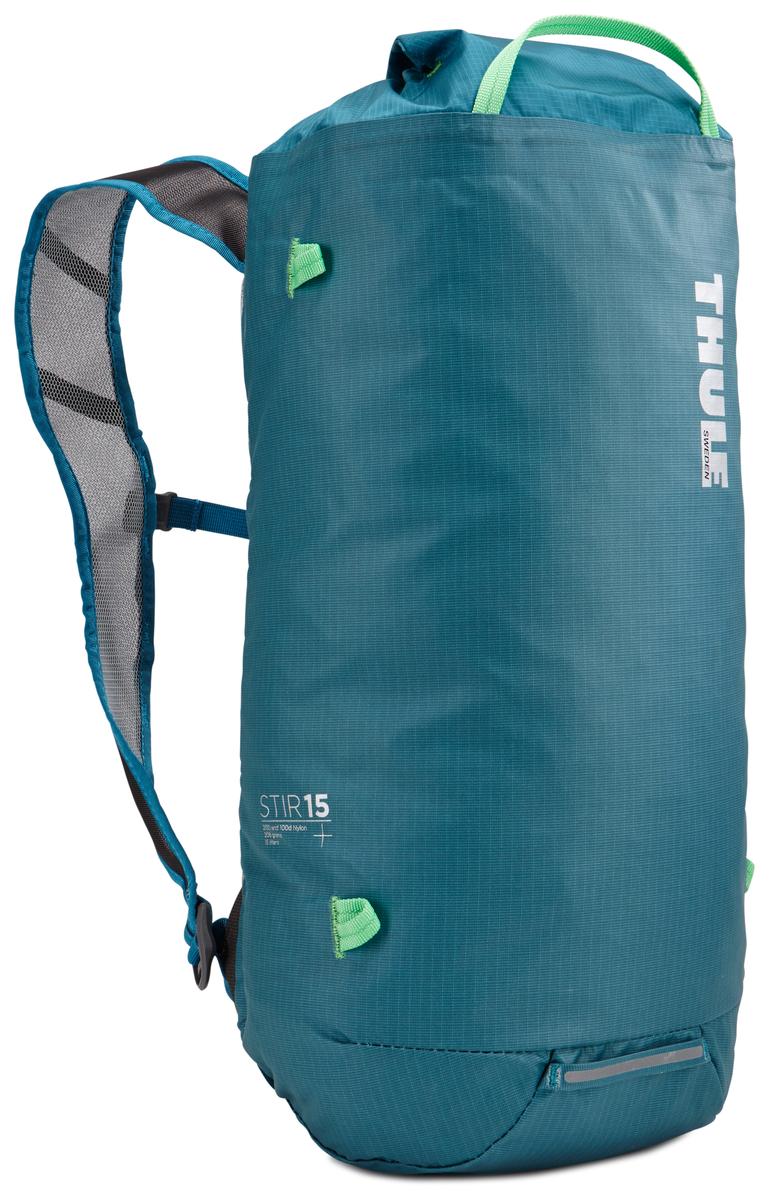 Рюкзак Thule Stir 15L, цвет: бирюзовый, 15 лKOC-H19-LEDРюкзак для пеших путешествий Thule Stir с объемом 15 л - это идеальный вариант для коротких прогулок и городских вылазок, когда можно путешествовать налегке. Легкодоступная крышка с защитным откидным клапаном. Съемный нагрудный ремень и поясной ремень, который можно спрятать за задней панелью при передвижении по городу. Точка крепления петли для фонаря и светоотражающий материал. Внутренний сетчатый карман для удобного хранения. Встроенные точки крепления для установки снаряжения сверху с помощью строп. Воздухопроницаемые задняя панель и наплечные ремни обеспечивают вентиляцию. Конструкция, предназначенная для хранения воды, включает зажим для емкости с водой с отверстием для трубки (емкость продается отдельно).