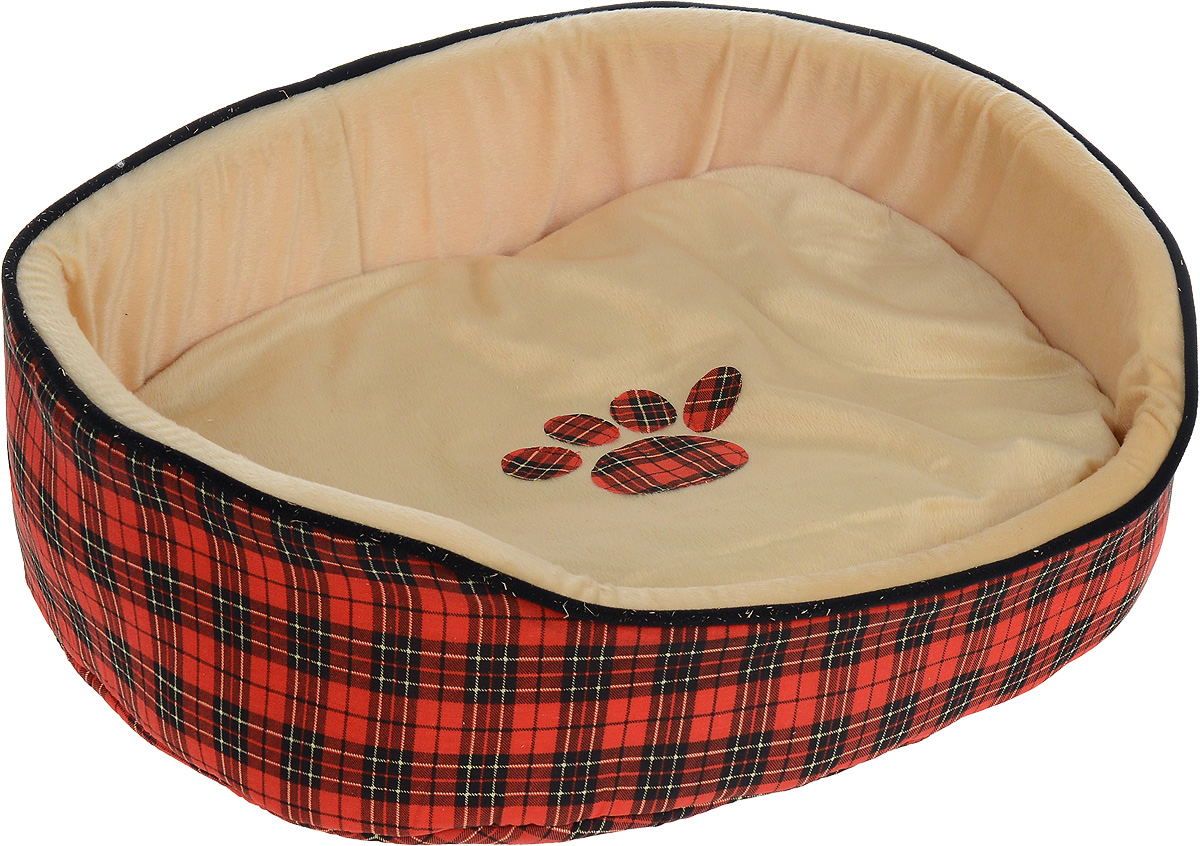 Лежак для животных Каскад Клетка. №4, 58 х 49 х 20 см игрушка для животных каскад барабан с колокольчиком 4 х 4 х 4 см