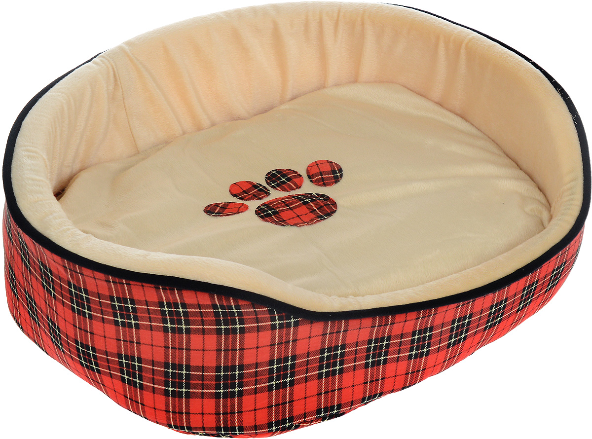 Лежак для животных Каскад Клетка. №3, 52 х 43 х 18 см игрушка для животных каскад мячик пробковый диаметр 3 5 см