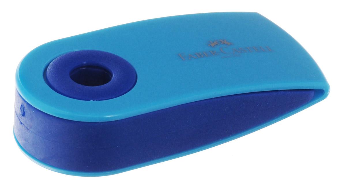 Faber-Castell Ластик флуоресцентный Sleeve цвет голубой182448_голубойФлуоресцентный ластик Faber-Castell Sleeve станет незаменимым аксессуаром на рабочем столе не только школьника или студента, но и офисного работника. Аккуратный и не оставляет грязных разводов. Кроме того высококачественный ластик не повреждает бумагу даже при многократном стирании. Специальный удобный пластиковый футляр позволит защитить ластик от повреждений.