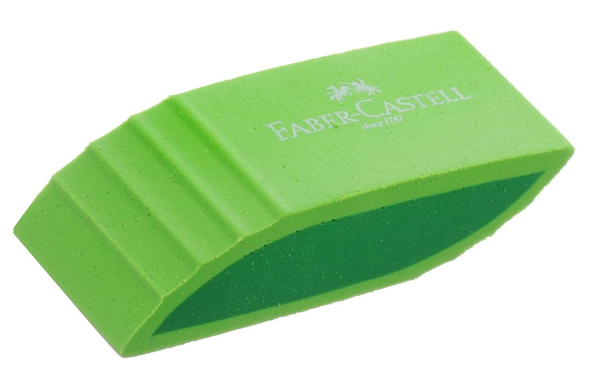 Faber-Castell Ластик фигурный цвет салатовый183057_салатовыйЛастик фигурный Faber-Castell станет незаменимым аксессуаром на рабочем столе не только школьника или студента, но и офисного работника.Аккуратный, не оставляет грязных разводов. Не повреждает бумагу даже при многократном стирании. Кроме того, высококачественный ластик не содержит ПВХ.