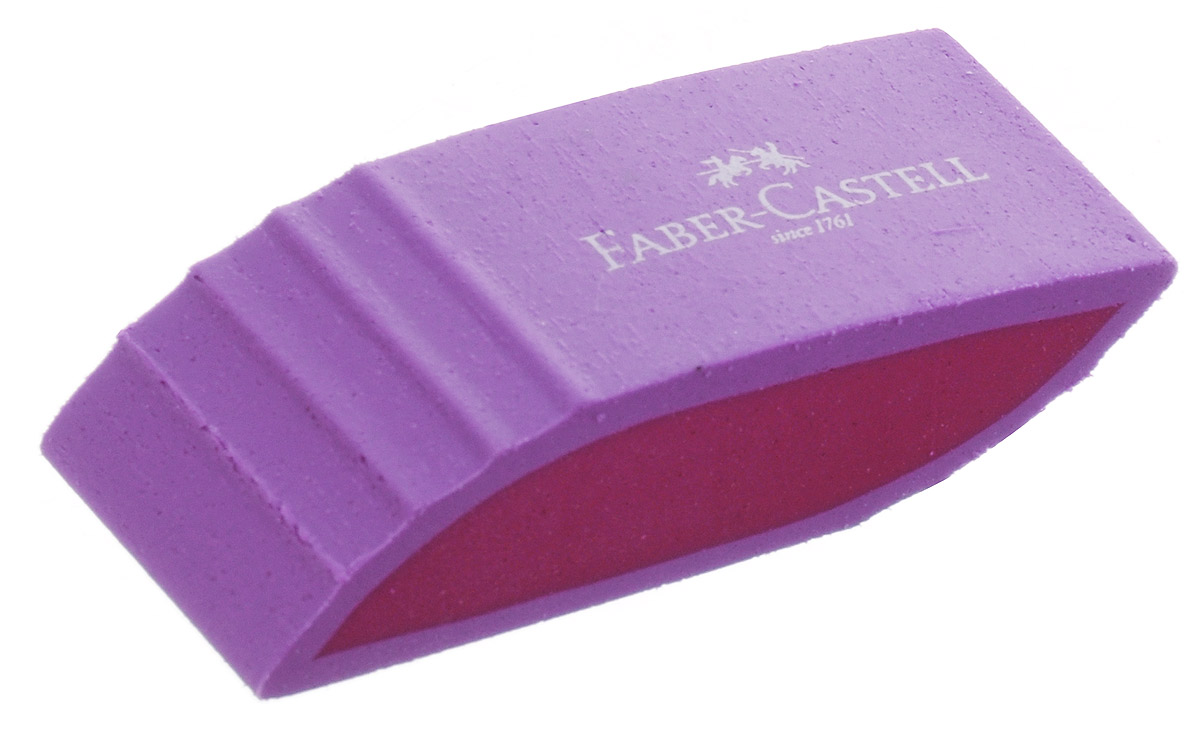 Faber-Castell Ластик фигурный цвет сиреневый72523WDЛастик фигурный Faber-Castell станет незаменимым аксессуаром на рабочем столе не только школьника или студента, но и офисного работника.Аккуратный, не оставляет грязных разводов. Не повреждает бумагу даже при многократном стирании. Кроме того, высококачественный ластик не содержит ПВХ.