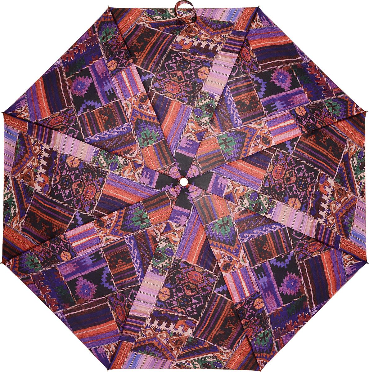M&P 5867-3 Зонт полный автом. 3 сл. жен.REM12-GREYЗонт испанского производителя Clima. В производстве зонтов используются современные материалы, что делает зонты легкими, но в то же время крепкими.Полный автомат, 3 сложения, 7 спиц, полиэстер.
