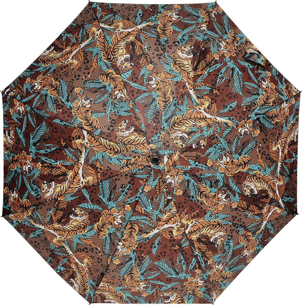 PERTEGAZ 85155-2 Зонт полный автом. 3 сл. жен.REM12-CAM-GREENBLACKЗонт испанского производителя Clima. В производстве зонтов используются современные материалы, что делает зонты легкими, но в то же время крепкими.Полный автомат, 3 сложения, 8 спиц, полиэстер.