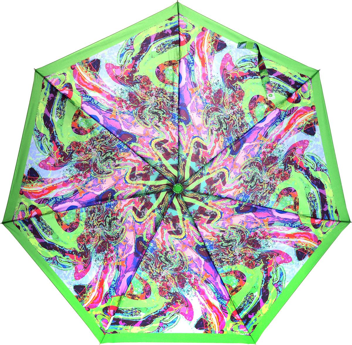 Bisetti 35153-2 Зонт полный автом. 3 сл. жен.П300020005-20Зонт испанского производителя Clima. В производстве зонтов используются современные материалы, что делает зонты легкими, но в то же время крепкими.Полный автомат, 3 сложения, 8 спиц по 54см, полиэстер.