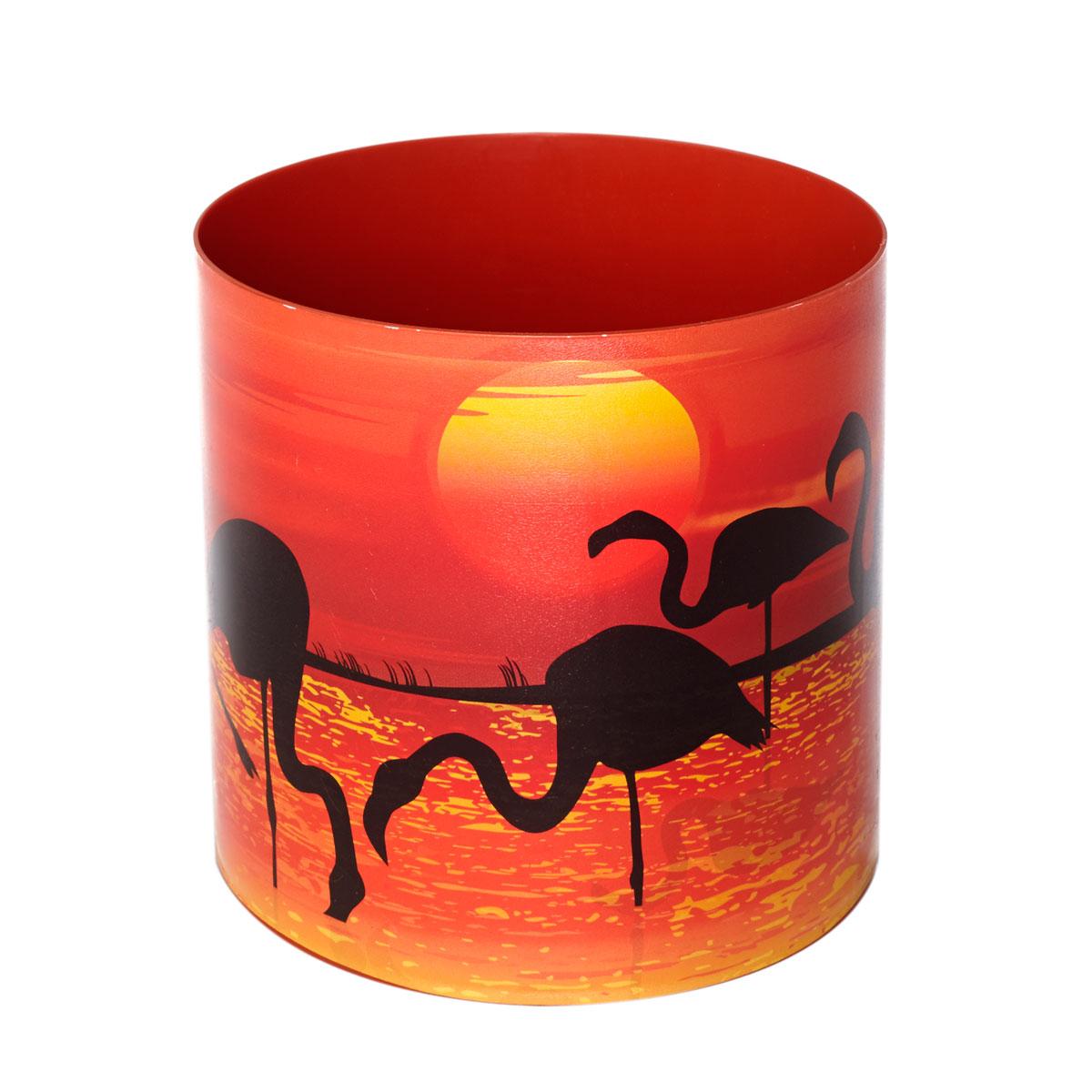 Горшок для цветов Miolla Фламинго, со скрытым поддоном, 1,7 лZ-0307Горшок для цветов Miolla Фламинго со скрытым поддоном выполнен из пластика и декорирован красочным рисунком.Диаметр горшка: 13,5 см.Высота горшка (с учетом поддона): 13,5 см.Объем горшка: 1,7 л.
