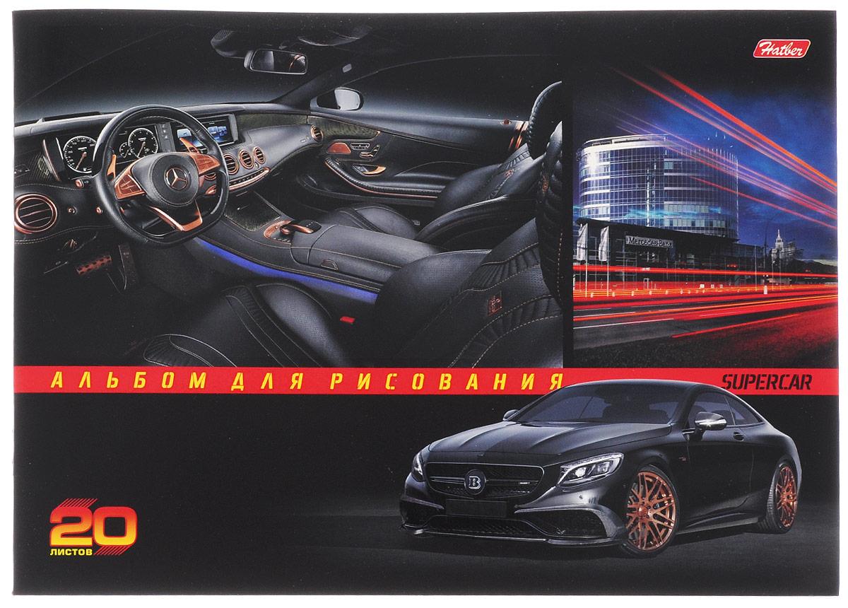 Hatber Альбом для рисования Mercedes-Benz 20 листовАч40_009Альбом для рисования Hatber Mercedes-Benz будет вдохновлять ребенка на творческий процесс.Альбом изготовлен из белоснежной бумаги с яркой обложкой из плотного картона, оформленной изображением стильного автомобиля. Внутренний блок альбома состоит из 20 листов бумаги. Способ крепления - скрепки.Высокое качество бумаги позволяет рисовать в альбоме карандашами, фломастерами, акварельными и гуашевыми красками. Во время рисования совершенствуются ассоциативное, аналитическое и творческое мышления. Занимаясь изобразительным творчеством, малыш тренирует мелкую моторику рук, становится более усидчивым и спокойным.