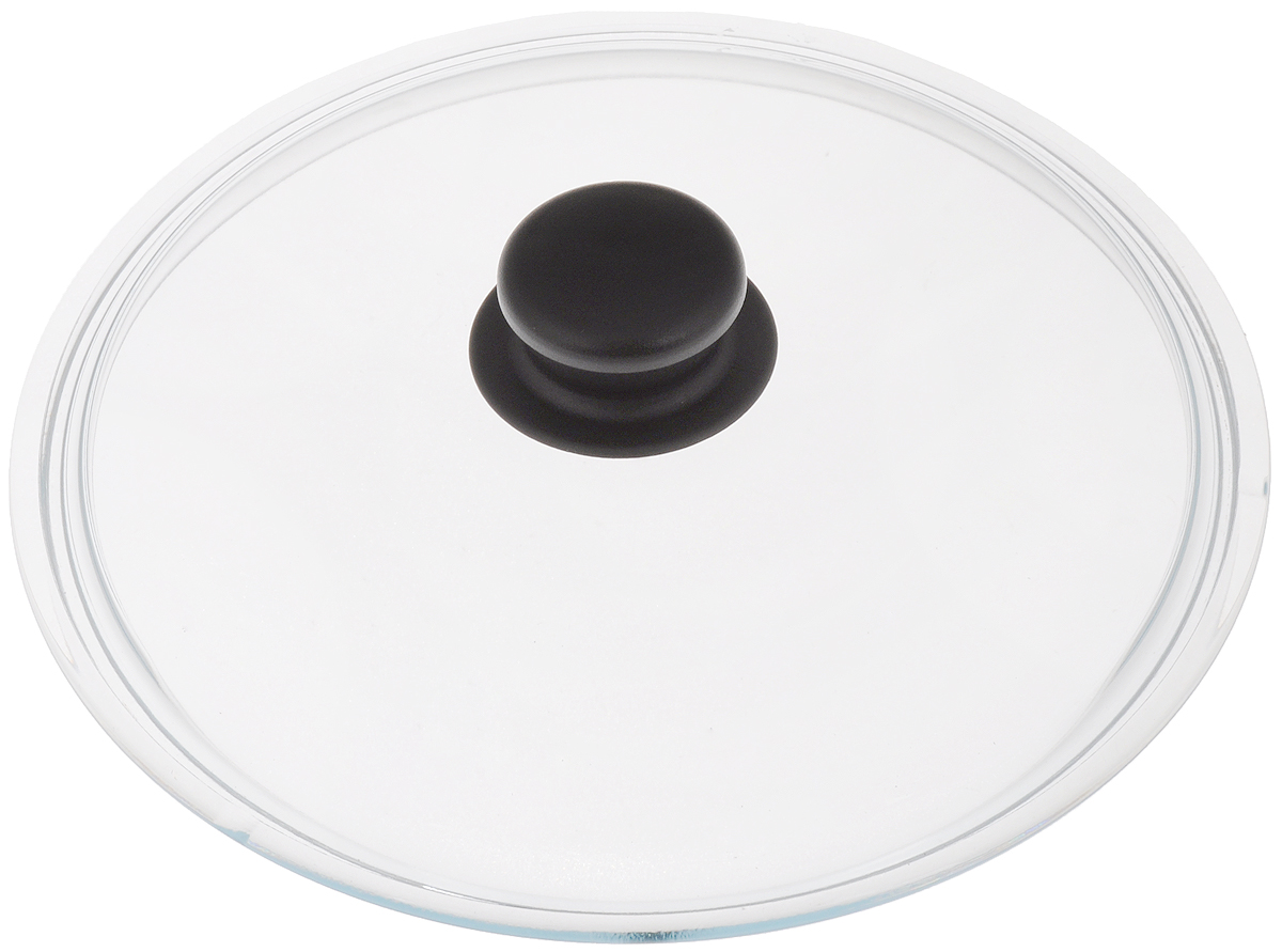 Крышка стеклянная VGP Катюша. Диаметр 22 смЛ4868Крышка VGP Катюша изготовлена из жаропрочного стекла. Ручка, выполненная из термостойкого пластика, защищает ваши руки от высоких температур. Крышка удобна в использовании и позволяет контролировать процесс приготовленияпищи. Можно мыть в посудомоечной машине. УВАЖАЕМЫЕ КЛИЕНТЫ!Просим обратить ваше внимание на тот факт, что изделие подходит только для кастрюль Катюша.