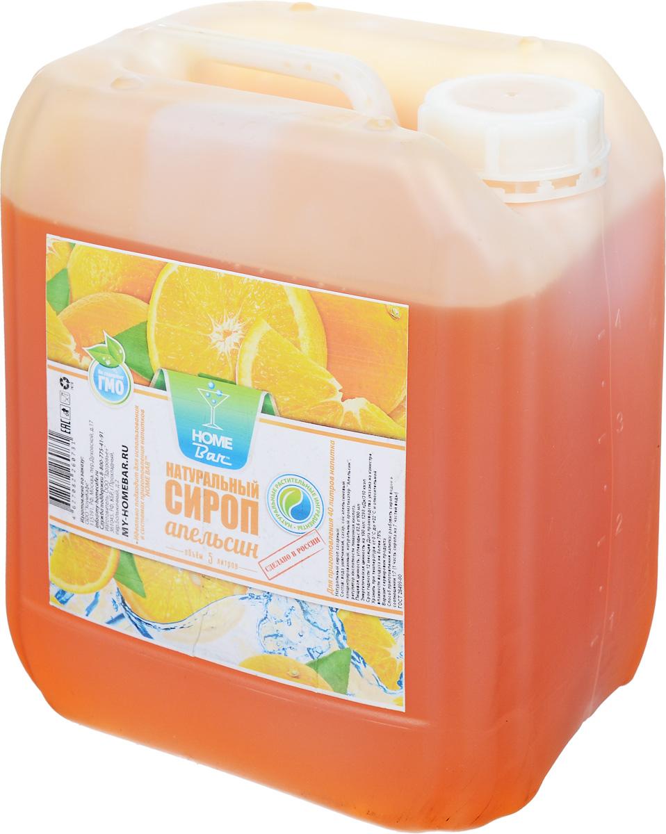 Home Bar Апельсин натуральный сироп, 5 л