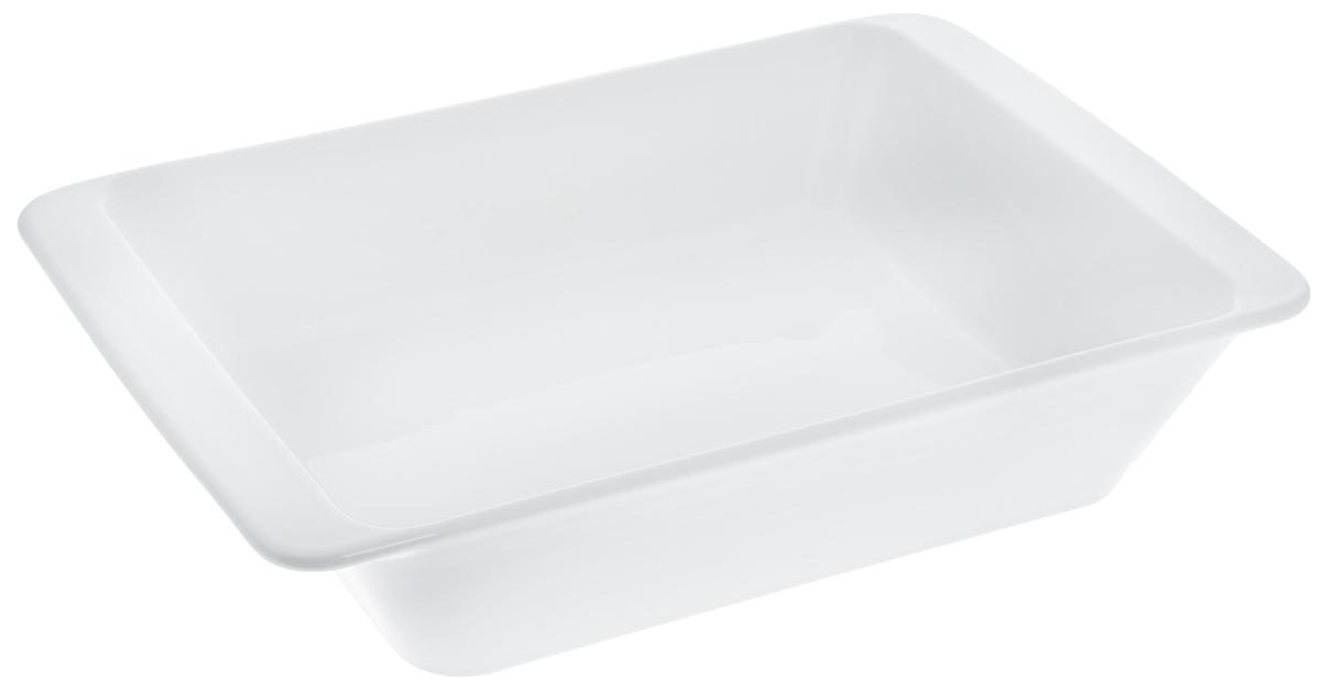 Форма для запекания Tescoma Gusto, прямоугольная, 32 х 20 смFS-91909Прямоугольная форма Tescoma Gusto, выполненная из высококачественной керамики, отлично подходит для выпечки, запекания, сервировки и хранения блюд.Пригодна для всех типов духовок, холодильников и морозильников. Можно мыть в посудомоечной машине. Выдерживает температуру от -18°С до +240°С. Внутренний размер формы: 27 х 19,5 см. Внешний размер формы: 32 х 20 см.Высота стенки: 6,2 см.