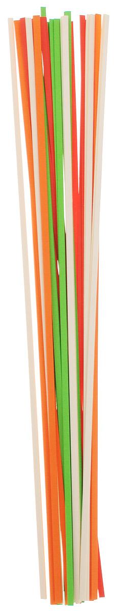 Апплика Бумага для квиллинга ширина 3 мм 4 цвета 200 шт730396Бумага для квиллинга Апплика - это порезанные специальным образом полоски бумаги определенной плотности.Такая бумага пластична, не расслаивается, легко и равномерно закручивается в спираль, благодаря чему готовым спиралям легче придать форму.В упаковке 200 полосок бумаги четырех цветов.Квиллинг - техника изготовления плоских или объемных композиций из скрученных в спирали длинных и узких полосок бумаги.Из бумажных спиралей создаются необычные цветы и красивые витиеватые узоры, которые в дальнейшем можно использовать для украшения открыток, альбомов, подарочных упаковок, рамок для фотографий и даже для создания оригинальных бижутерий. Это простой и очень красивый вид рукоделия, не требующий больших затрат.