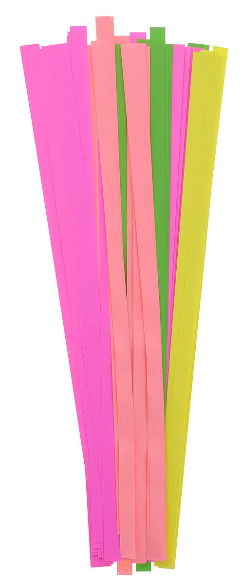 Апплика Бумага для квиллинга ширина 9 мм 4 цвета 200 шт730396Бумага для квиллинга Апплика - это порезанные специальным образом полоски бумаги определенной плотности. Такая бумага пластична, не расслаивается, легко и равномерно закручивается в спираль, благодаря чему готовым спиралям легче придать форму.В упаковке 200 полосок бумаги 4 цветов.Квиллинг (бумагокручение) - техника изготовления плоских или объемных композиций из скрученных в спиральки длинных и узких полосок бумаги. Из бумажных спиралей создаются необычные цветы и красивые витиеватые узоры, которые в дальнейшем можно использовать для украшения открыток, альбомов, подарочных упаковок, рамок для фотографий и даже для создания оригинальных бижутерий. Это простой и очень красивый вид рукоделия, не требующий больших затрат.