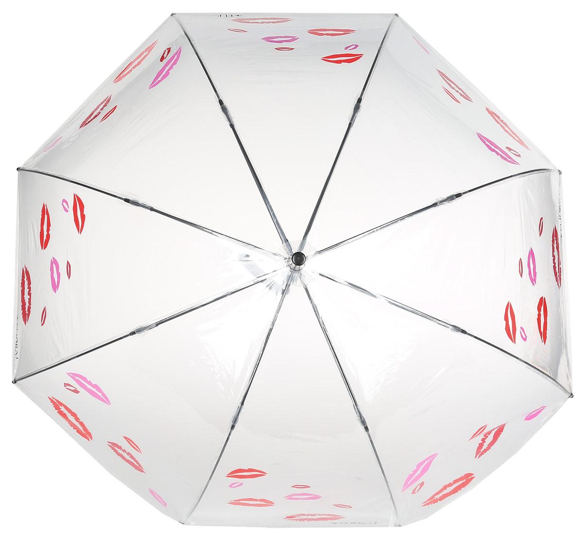 Зонт женский Flioraj, механика, трость, цвет: красный, белый. 121204 FJП250070003-9Элегантный зонт Flioraj выполнен из высококачественного полиэстера, не пропускающего воду. Уникальный каркас из анодированной стали, карбоновые спицы помогут выдержать натиск ураганного ветра. Улучшенный механизм зонта, максимально комфортная ручка держателя, увеличенный в длину стержень, тефлоновая пропитка материала купола - совершенство конструкции с изысканностью изделия на фоне конкурентоспособной цены.