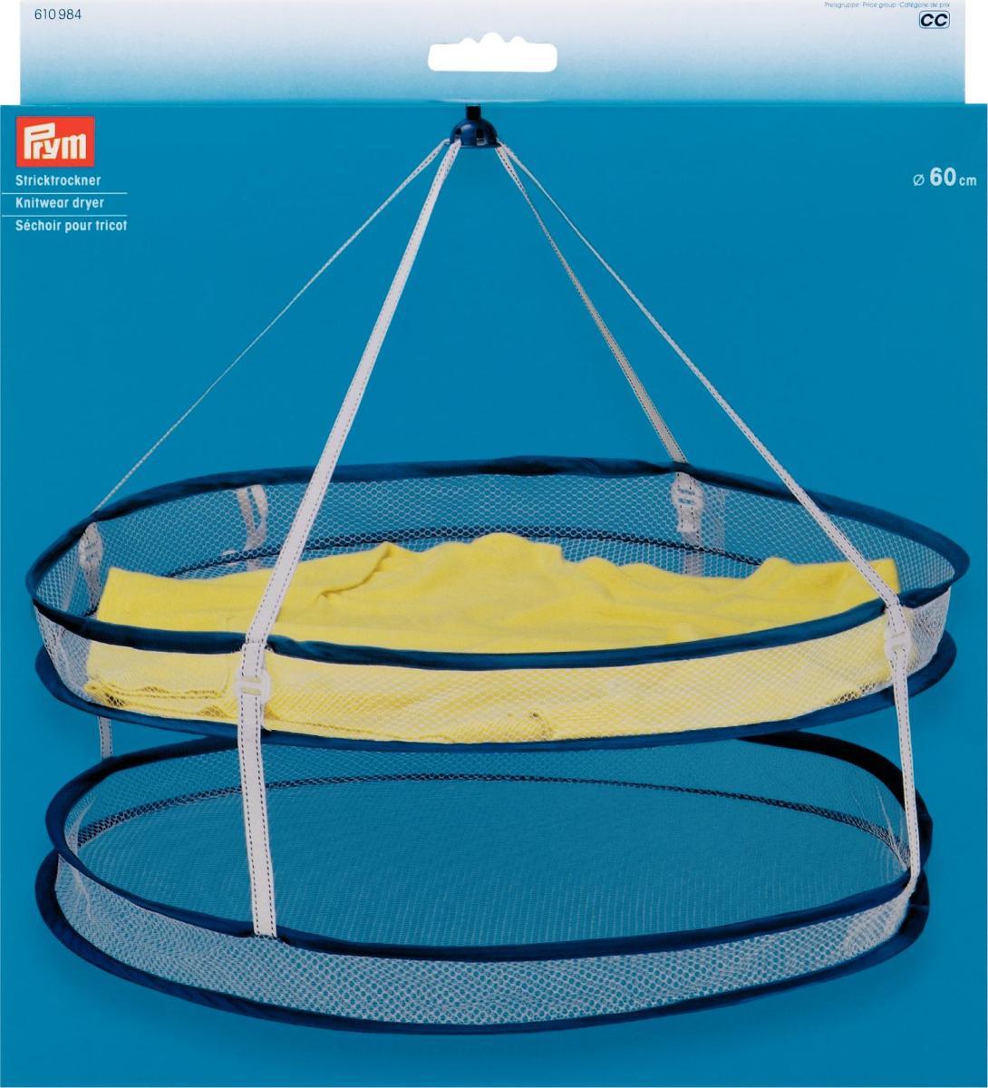 Сушилка для трикотажа Prym, подвесная, диаметр 60 смGC204/30Подвесная сушилка Prym идеально подходит для сушки трикотажа и тонкого белья на воздухе, препятствует перетяжке одежды.