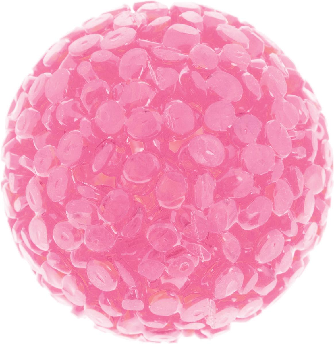 Игрушка для животных Каскад Мячик блестящий, цвет: розовый, диаметр 4 см0120710Игрушка для животных Каскад Мячик блестящий изготовлена из высококачественной синтетики. Внутри изделия имеется небольшой бубенчик, который привлечет внимание питомца. Такая игрушка порадует вашего любимца, а вам доставит массу приятных эмоций, ведь наблюдать за игрой всегда интересно и приятно.Диаметр игрушки: 4 см.