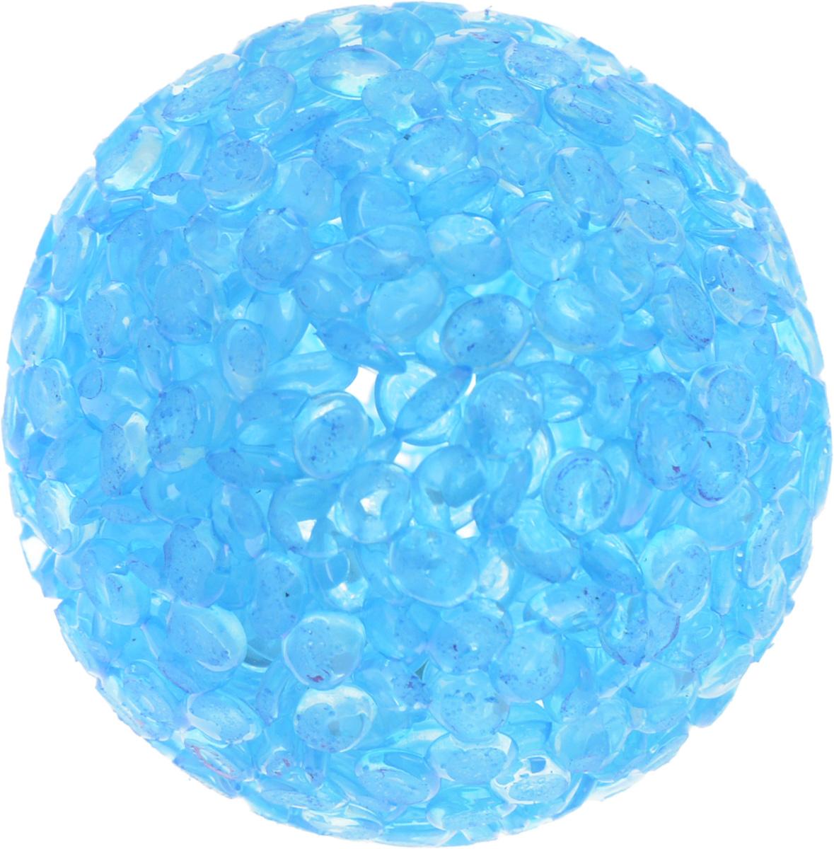 Игрушка для животных Каскад Мячик блестящий, цвет: голубой, диаметр 4 см0120710Игрушка для животных Каскад Мячик блестящий изготовлена из высококачественной синтетики. Внутри изделия имеется небольшой бубенчик, который привлечет внимание питомца. Такая игрушка порадует вашего любимца, а вам доставит массу приятных эмоций, ведь наблюдать за игрой всегда интересно и приятно.Диаметр игрушки: 4 см.