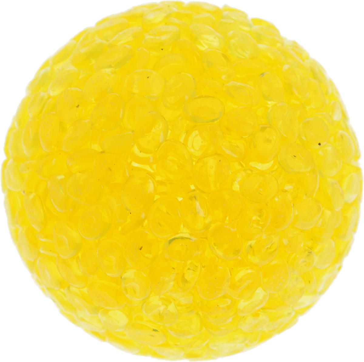 Игрушка для животных Каскад Мячик блестящий, цвет: желтый, диаметр 4 см0120710Игрушка для животных Каскад Мячик блестящий изготовлена из высококачественной синтетики. Внутри изделия имеется небольшой бубенчик, который привлечет внимание питомца. Такая игрушка порадует вашего любимца, а вам доставит массу приятных эмоций, ведь наблюдать за игрой всегда интересно и приятно.Диаметр игрушки: 4 см.