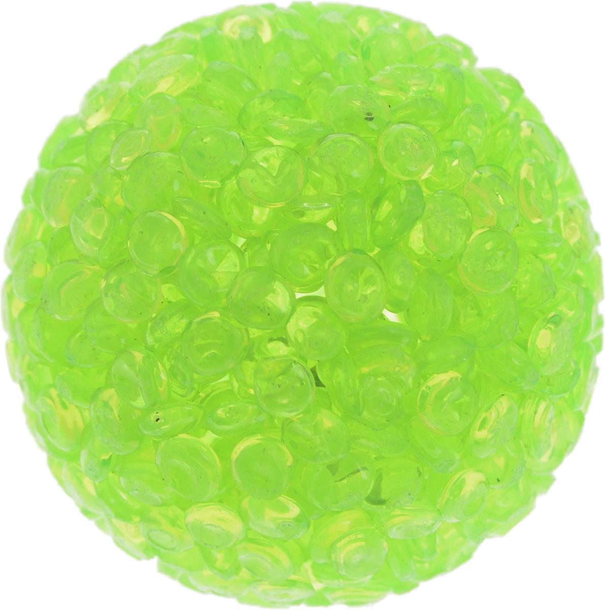 Игрушка для животных Каскад Мячик блестящий, цвет: салатовый, диаметр 4 см27799311Игрушка для животных Каскад Мячик блестящий изготовлена из высококачественной синтетики. Внутри изделия имеется небольшой бубенчик, который привлечет внимание питомца. Такая игрушка порадует вашего любимца, а вам доставит массу приятных эмоций, ведь наблюдать за игрой всегда интересно и приятно.Диаметр игрушки: 4 см.