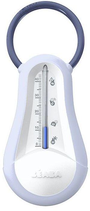 Механический термометр Beaba удобен и прост в использовании как при купании малыша, так и для измерения температуры в детской.