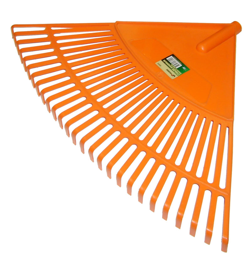 Грабли веерные Skrab, цвет: оранжевый, 27 зубов skrab 28110