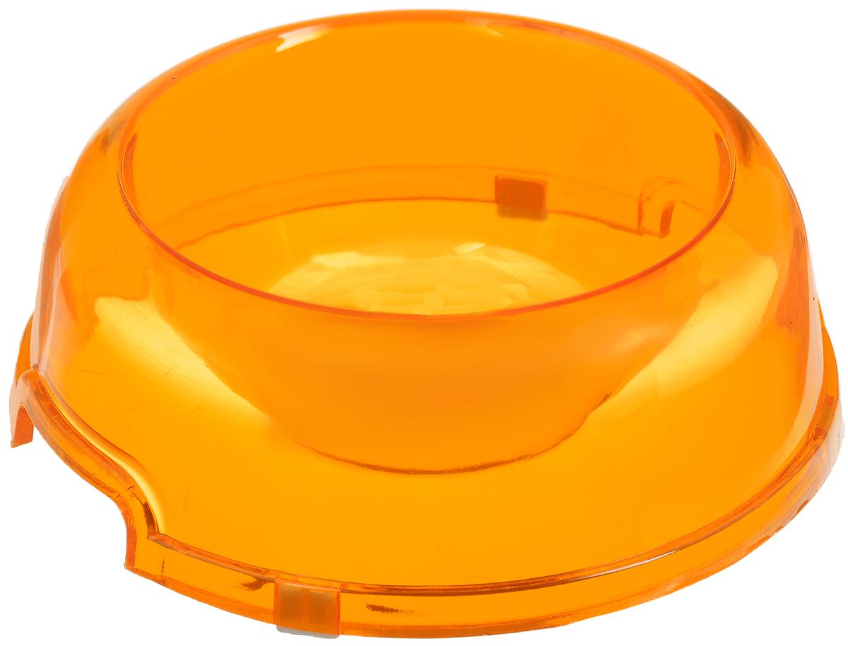 Миска для животных Каскад, цвет: оранжевый, 300 мл8301724Миска для животных Каскад изготовлена извысококачественного пластика и предназначенадля корма и воды. Она порадует удобствомиспользования как самих животных, так и иххозяев. Яркий дизайн придаст изделию индивидуальность и удовлетворит вкуссамых взыскательных зоовладельцев. Изделие снабжено нескользящими резиновымивставками на основании, устойчивыми на любойповерхности.Объем: 300 мл. Диаметр миски (по верхнему краю): 10,5 см.Диаметр основания: 15,5 см. Высота миски: 6 см.