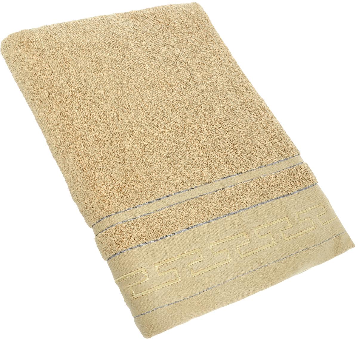 Полотенце Arya Foresta, цвет: светло-коричневый, 50 х 100 смS03301004Полотенце Arya Foresta выполнено из 100% хлопка. Изделие отлично впитывает влагу, быстро сохнет, сохраняет яркость цвета и не теряет форму даже после многократных стирок. Такое полотенце очень практично и неприхотливо в уходе. Оно создаст прекрасное настроение и украсит интерьер в ванной комнате.