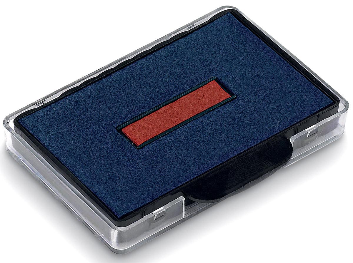 Trodat Сменная штемпельная подушка цвет синий красный 6/56/2 -  Кассы, оснастки, подушки