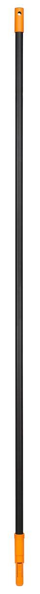 Черенок Fiskars Solid, 160 смGC204/30Черенок Fiskars Solid изготовлен из алюминия, очень легкий и удобный в работе. Используется с пластиковыми граблями, которые крепятся автоматически, без всяких усилий. не нужно ничего закручивать, а снимать немного сложнее -фиксирующий язычок довольно жесткий,и давить на него приходится сильно. Чтобы было удобно хранить,имеется отверстие для подвешивания. Благодаря надежному креплению вы не потеряете насадку во время работы.Длина черенка: 160 см.