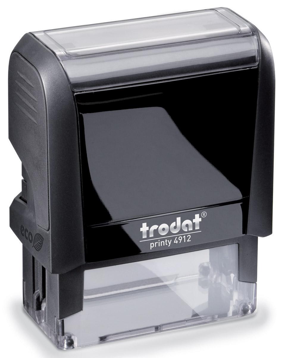 Trodat Оснастка для штампа 47 х 18 ммFS-00897Оснастка для штампа Trodat будет незаменима в отделе кадров или в бухгалтерии любой компании. Прочный пластиковый корпус с автоматическим окрашиванием гарантирует долговечное бесперебойное использование. Модель отличается высочайшим удобством в использовании и оптимально ложится в руку. Оттиск проставляется практически бесшумно, легким нажатием руки. Улучшенная конструкция и видимая площадь печати гарантируют качество и точность оттиска. Текстовые пластины прямоугольной формы 47 х 18 мм подойдут для изготовления клише по индивидуальному заказу. Модель оснащена кнопкой блокировки.Оснастка для штампа Trodat идеальна для ежедневного использования в офисе.