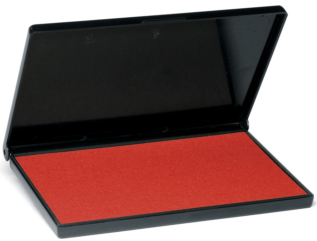 Trodat Штемпельная подушка красная 11х7 см7011сЗаполнена краской на водной основе. Используется для окрашивания ручных штампов, изготовленных из резины и полимера. Размер 110х70 мм. Цвет - красный