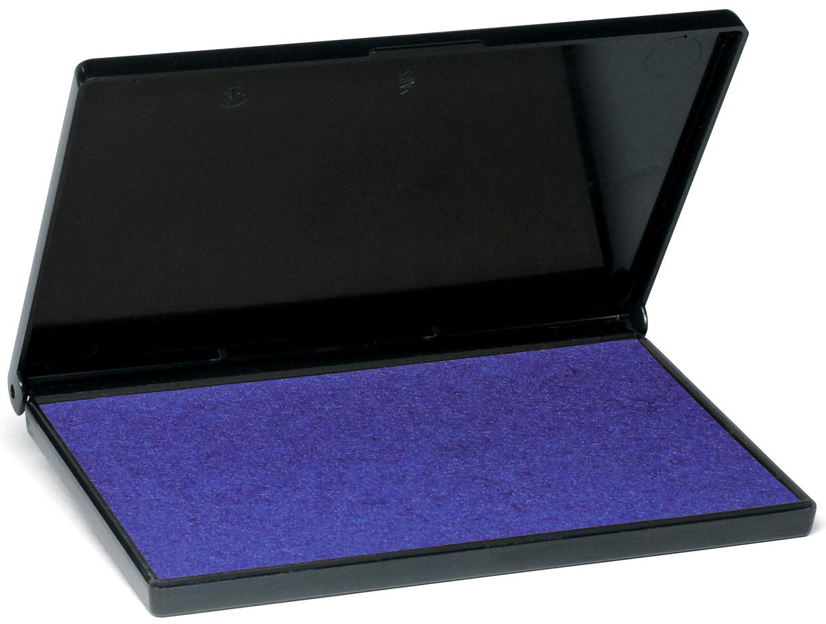 Trodat Штемпельная подушка фиолетовая 11х7 смE/R45/2Заполнена краской на водной основе. Используется для окрашивания ручных штампов, изготовленных из резины и полимера. Размер 110х70 мм. Цвет - фиолетовый