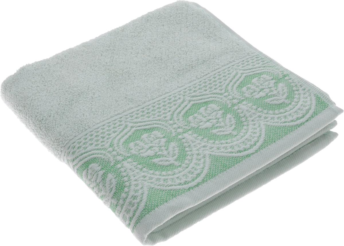 Полотенце Arya Bella, цвет: светло-зеленый, 50 х 90 см68/5/3Полотенце Arya Bella выполнено из 100% хлопка. Изделие отлично впитывает влагу, быстро сохнет, сохраняет яркость цвета и не теряет форму даже после многократных стирок. Такое полотенце очень практично и неприхотливо в уходе. Оно создаст прекрасное настроение и украсит интерьер в ванной комнате.