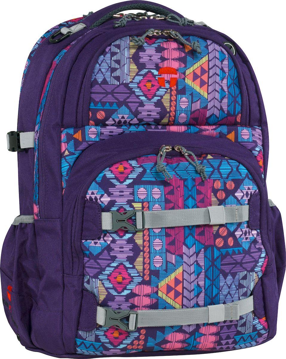 Take It Easy Ранец школьный Oslo-Flex Ацтеки цвет лиловый