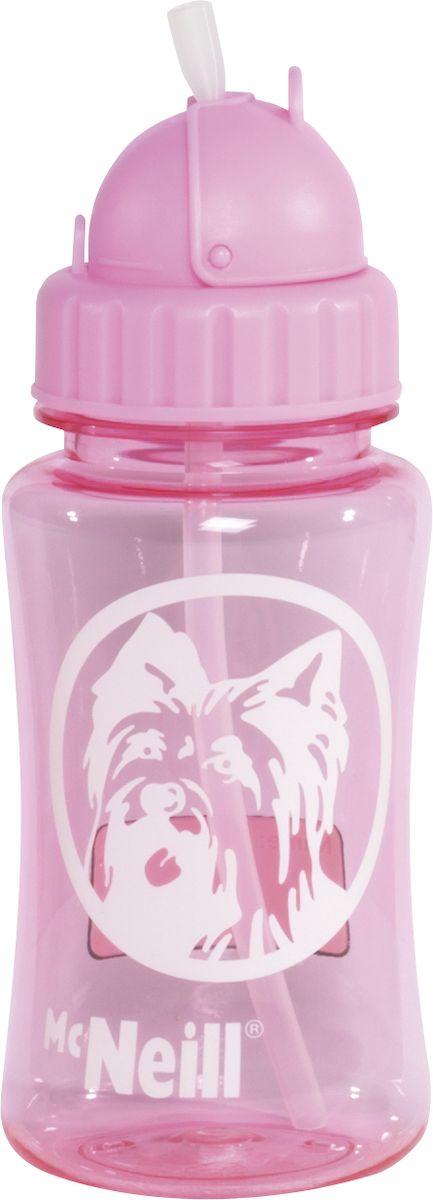 McNeill Бутылка детская для напитков цвет розовый 350 мл3369800052
