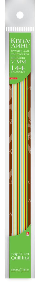 Альт Бумага для квиллинга 7 мм 144 полосы 12 цветов32А4Всп_15065Цветная бумага для квиллинга Альт разработана для создания объемных композиций, украшений для открыток и фоторамок. Набор из 144 полосок включает 12 ярких, насыщенных цветов (по 12 штук каждого). Высокая плотность позволяет готовым спиральным элементам держать форму, не раскручиваясь и не деформируясь. Ширина полосок составляет 7 мм. Тонированная в массе бумага предназначена для скручивания в спирали с последующим приданием нужной формы.