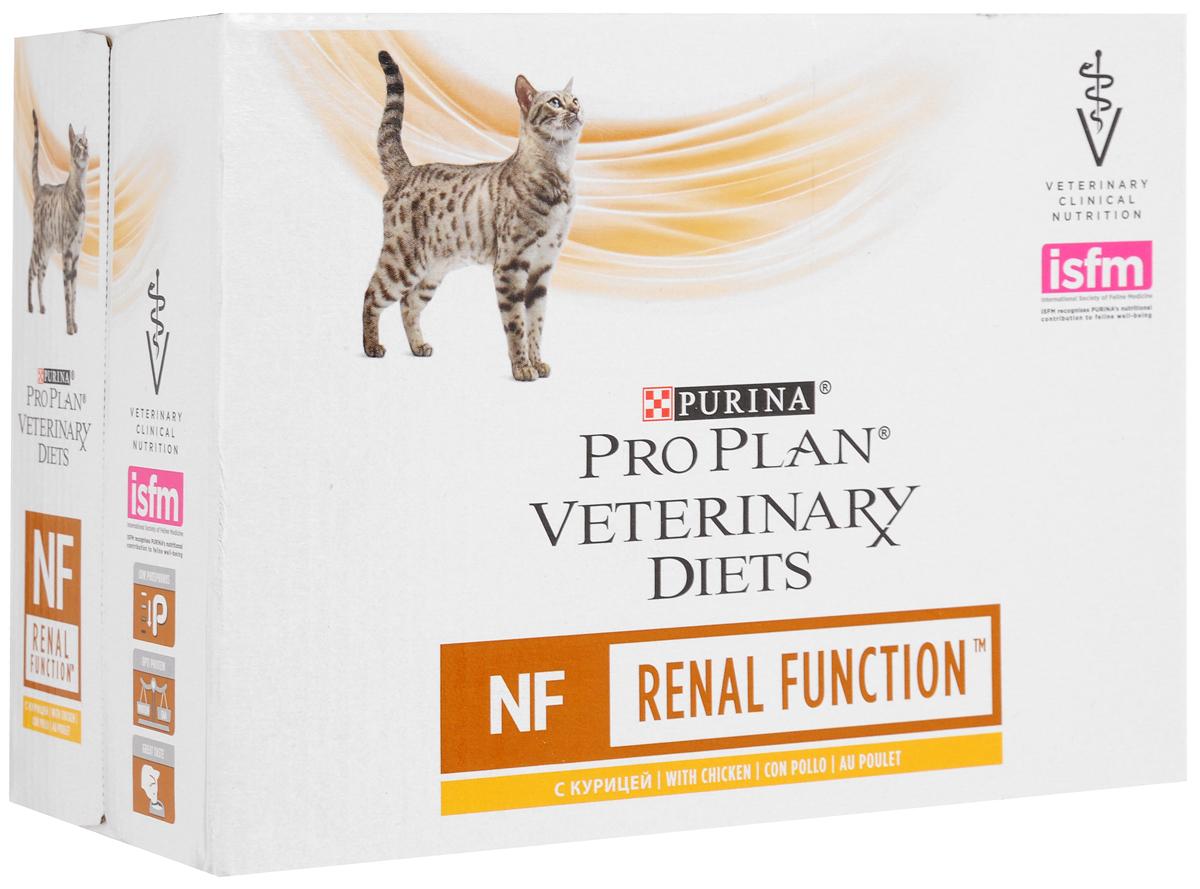 Консервы для кошек Pro Plan Veterinary Diets. NF, при заболевании почек, с курицей, 85 г х 10 шт