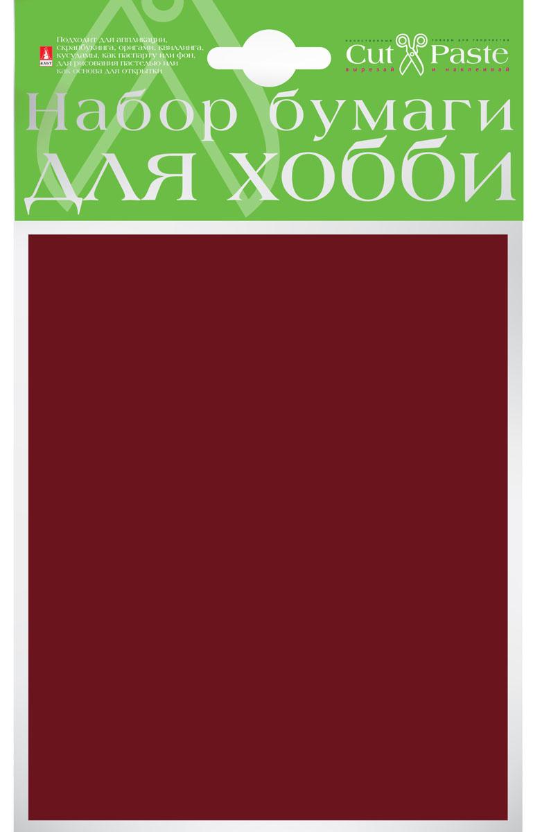 Альт Набор бумаги для хобби цвет коричневый 10 листов формат А620А4В_15274Набор бумаги для хобби Альт включает в себя 10 листов бумаги коричневого цвета.Тонированная в массе бумага обладает высоким качеством и плотностью, что позволяет использовать ее для поделок в любой технике, комбинировать с картоном и текстилем.Детские аппликации из цветной бумаги - хороший способ самовыражения ребенка и развития творческих навыков. Создание различных поделок с помощью этого набора увлечет вашего ребенка и подарит вам хорошее настроение.