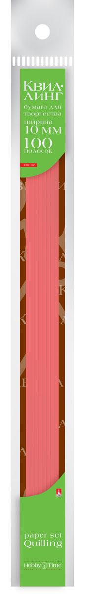 Альт Бумага для квиллинга 10 мм 100 полос цвет красный бумага художественная альт бумага с орнаментом тишью 10 листов горошек голубой фон
