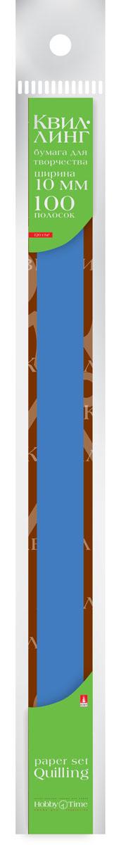 Альт Бумага для квиллинга 10 мм 100 полос цвет синий12А4В_15264Цветная бумага для квиллинга Альт разработана для создания объемных композиций, украшений для открыток и фоторамок. В набор входят 100 предварительно нарезанных узких полос цветной бумаги. Высокая плотность позволяет готовым спиральным элементам держать форму, не раскручиваясь и не деформируясь. Ширина полосок составляет 10 мм. Тонированная в массе бумага предназначена для скручивания в спирали с последующим приданием нужной формы.