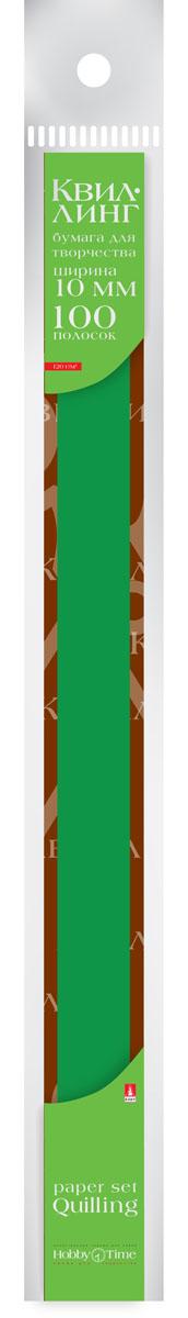 Альт Бумага для квиллинга 10 мм 100 полос цвет темно-зеленый72523WDЦветная бумага для квиллинга Альт разработана для создания объемных композиций, украшений для открыток и фоторамок. В набор входят 100 предварительно нарезанных узких полос цветной бумаги. Высокая плотность позволяет готовым спиральным элементам держать форму, не раскручиваясь и не деформируясь. Ширина полосок составляет 10 мм. Тонированная в массе бумага предназначена для скручивания в спирали с последующим приданием нужной формы.