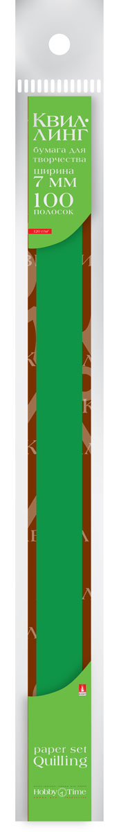 Альт Бумага для квиллинга 7 мм 100 полос цвет темно-зеленый20А4В_15274Цветная бумага для квиллинга Альт разработана для создания объемных композиций, украшений для открыток и фоторамок. В набор входят 100 предварительно нарезанных узких полос цветной бумаги. Высокая плотность позволяет готовым спиральным элементам держать форму, не раскручиваясь и не деформируясь. Ширина полосок составляет 7 мм. Тонированная в массе бумага предназначена для скручивания в спирали с последующим приданием нужной формы.