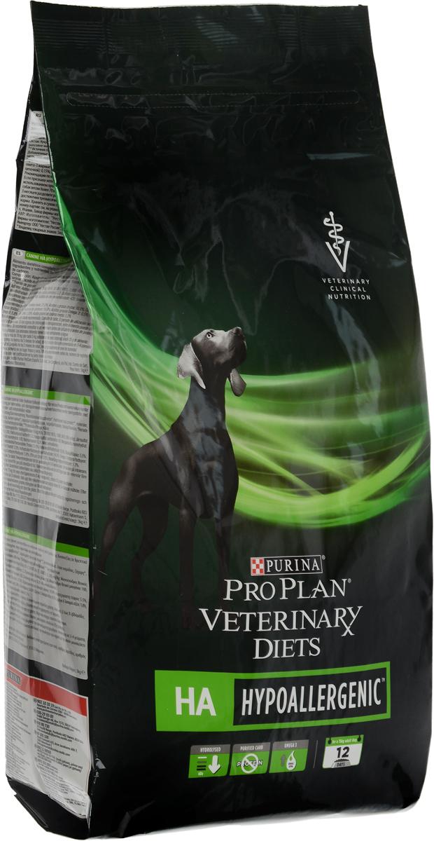 Корм сухой Pro Plan Veterinary Diets. HA для собак, профилактика аллергии, 3 кг0120710Pro Plan Veterinary Diets. HA - полнорационный диетический корм для щенков и взрослых собак при аллергических реакциях. Корм рекомендуется для снижения непереносимости ингредиентов и питательных веществ, на основе специально отобранных источников белка и углеводов.Товар сертифицирован.