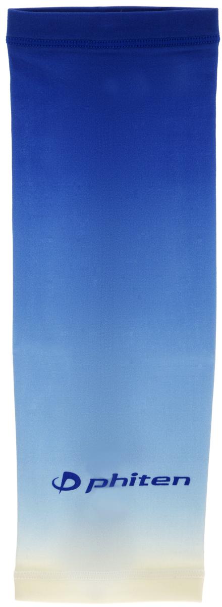 Рукав силовой Phiten X30, цвет: синий. Размер М (23-29 см). SL528104SL528104Силовой рукав Phiten X30, выполненный из 85% полиэстера и 15% полиуретана, идеально подходит для поддержки и увеличения силы мышц (плеча/предплечия) спортсменов. Рукав снимает мышечное напряжение, повышает выносливость и силу мышц. Он мягко фиксирует суставы, но при этом абсолютно не стесняет движения.Пропитка Aqua Titan с фактором X30 увеличивает эластичность мышц и связок, а также хорошо поглощает и испарять пот, что позволяет продлить ощущение комфорта при тренировках.Изделие специально разработано таким образом, чтобы соответствовать форме руки и обеспечить плотное прилегание, а благодаря инновационным материалам, рукав действительно поможет вам в процессе тяжелой тренировки или любой серьезной нагрузки.Силовой рукав Phiten X30 способствует:- улучшению циркуляции крови в организме;- разгрузке поврежденного сустава; - уменьшению усталости;- снятию излишнего напряжения и скорейшему восстановлению сил;- обеспечивает компрессионный эффект.