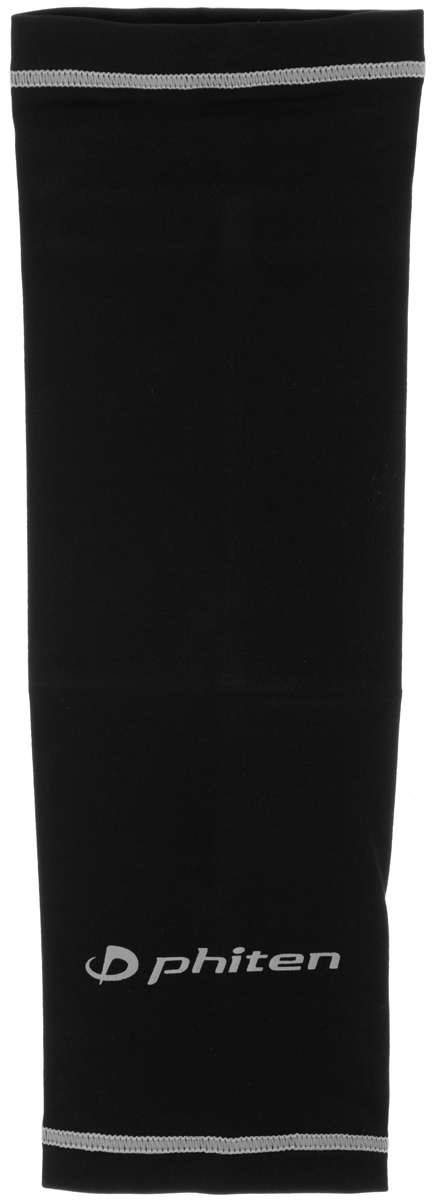Рукав силовой Phiten X30, цвет: черный, серый. Размер М (23-29 см). SL523104AIRWHEEL M3-162.8Силовой рукав Phiten X30, выполненный из 85% полиэстера и 15% полиуретана, идеально подходит для поддержки и увеличения силы мышц (плеча/предплечия) спортсменов. Рукав снимает мышечное напряжение, повышает выносливость и силу мышц. Он мягко фиксирует суставы, но при этом абсолютно не стесняет движения.Пропитка Aqua Titan с фактором X30 увеличивает эластичность мышц и связок, а также хорошо поглощает и испарять пот, что позволяет продлить ощущение комфорта при тренировках.Изделие специально разработано таким образом, чтобы соответствовать форме руки и обеспечить плотное прилегание, а благодаря инновационным материалам, рукав действительно поможет вам в процессе тяжелой тренировки или любой серьезной нагрузки.Силовой рукав Phiten X30 способствует:- улучшению циркуляции крови в организме;- разгрузке поврежденного сустава; - уменьшению усталости;- снятию излишнего напряжения и скорейшему восстановлению сил;- обеспечивает компрессионный эффект.